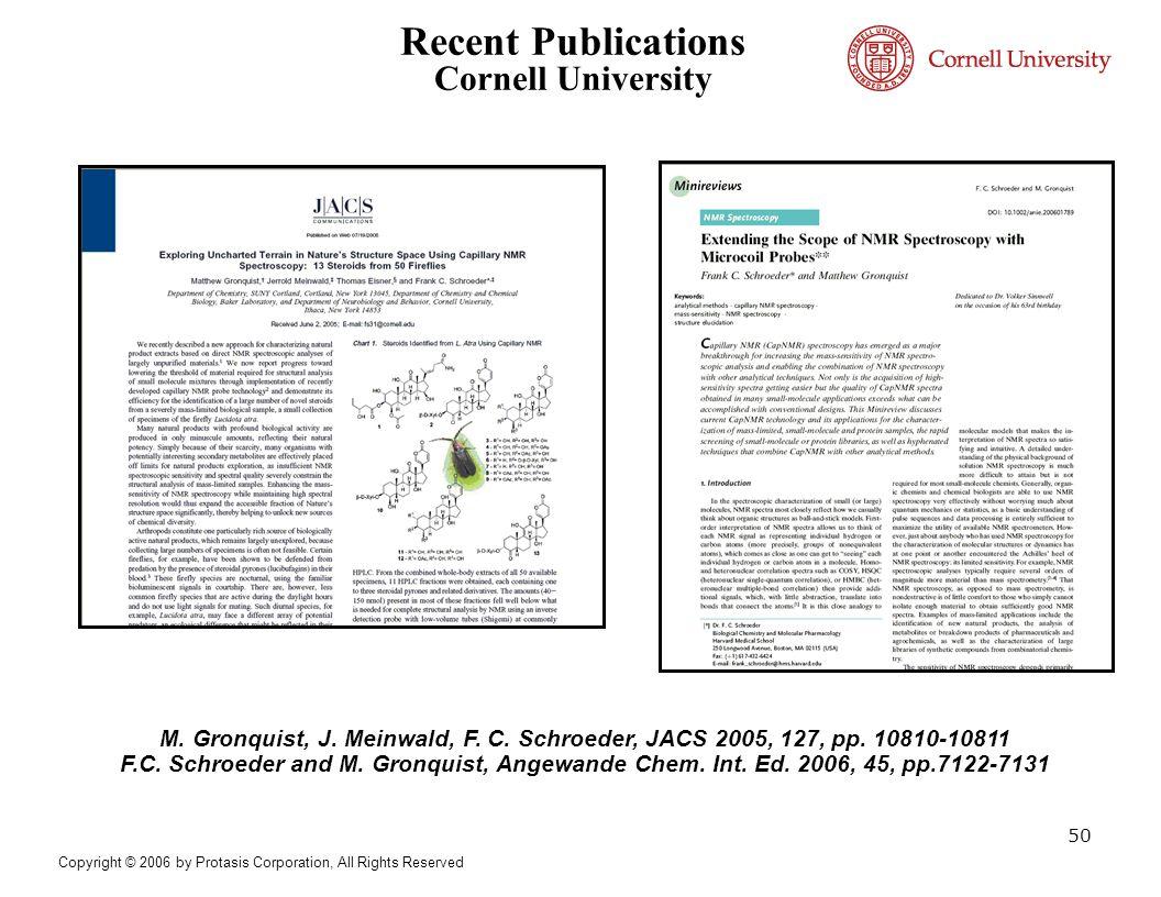Recent Publications Cornell University