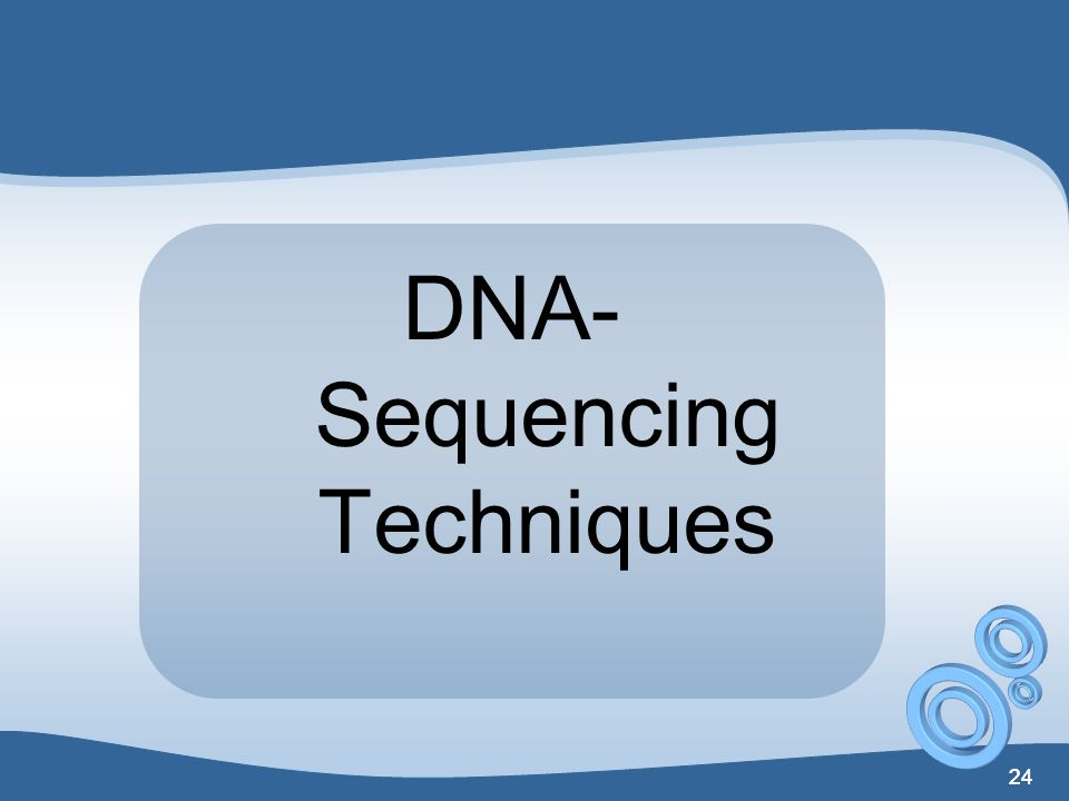 DNA-Sequencing Techniques