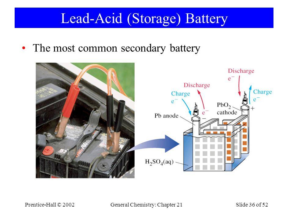 Lead-Acid (Storage) Battery