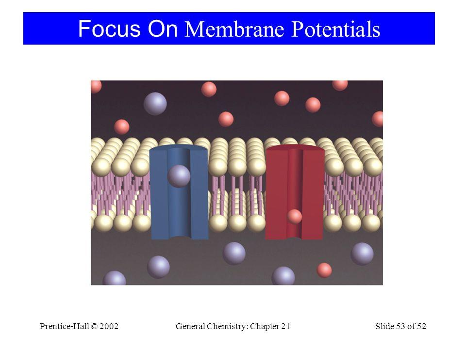 Focus On Membrane Potentials