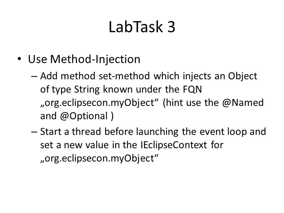 LabTask 3 Use Method-Injection
