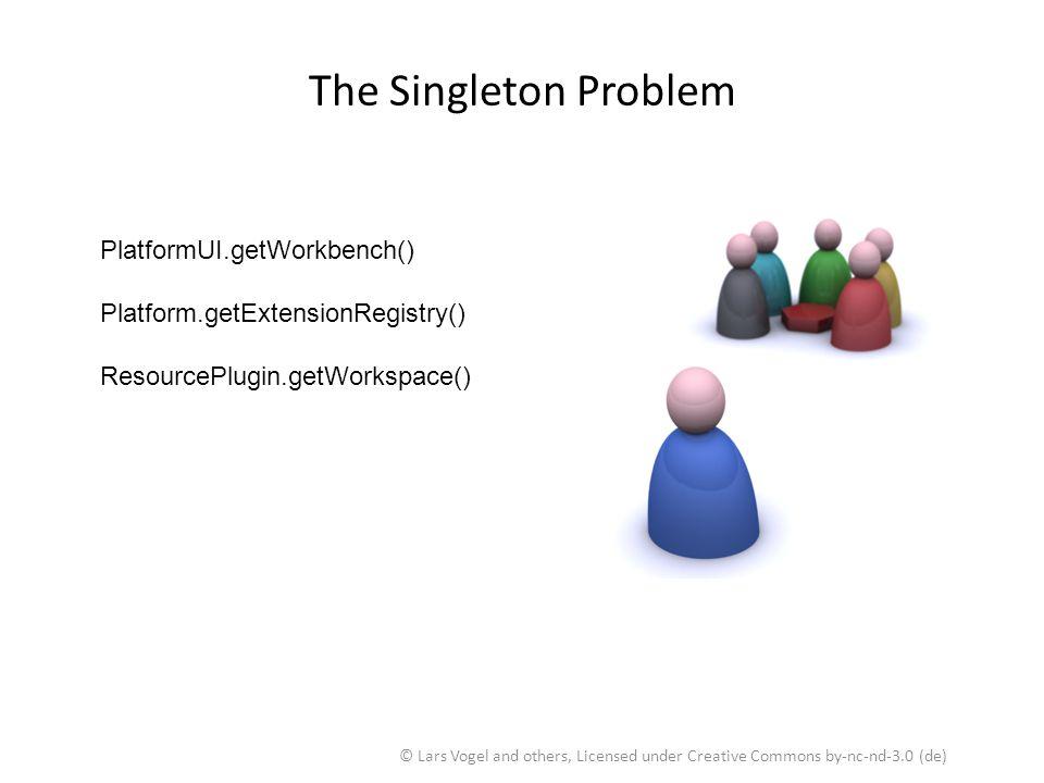 The Singleton Problem PlatformUI.getWorkbench()