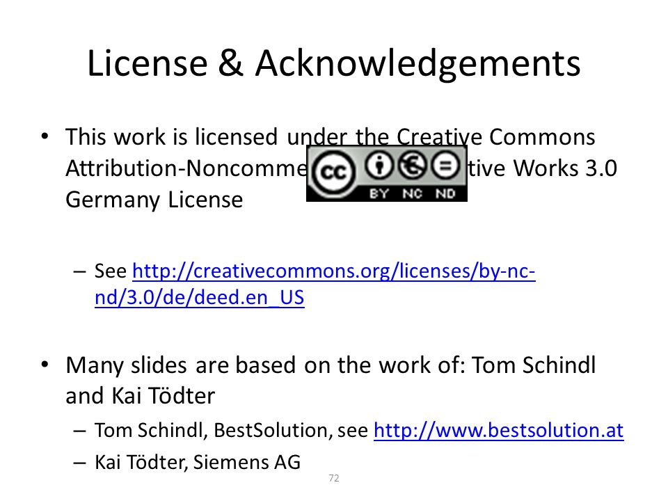 License & Acknowledgements