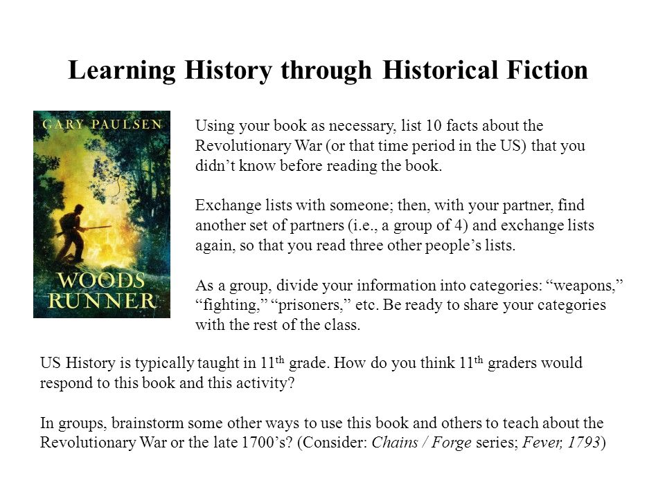 Learning History through Historical Fiction