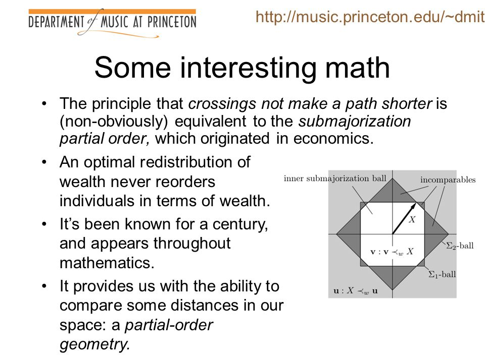 Some interesting math http://music.princeton.edu/~dmitri
