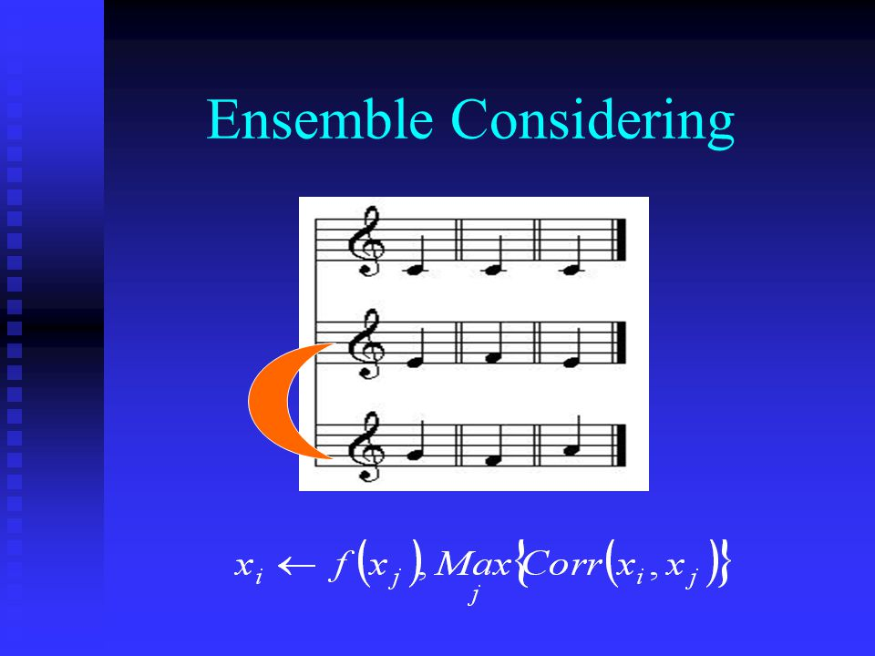 Ensemble Considering