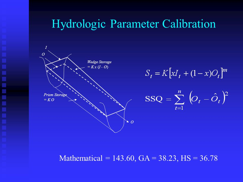 Hydrologic Parameter Calibration