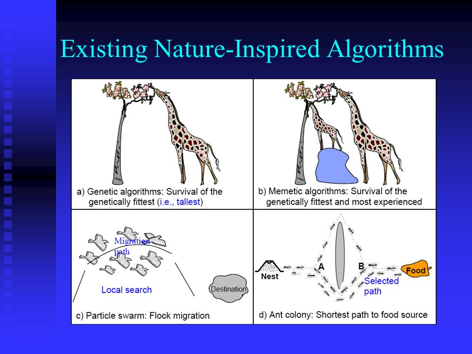 Existing Nature-Inspired Algorithms