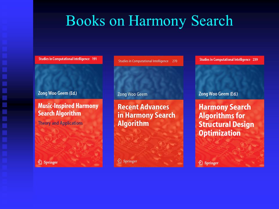 Books on Harmony Search