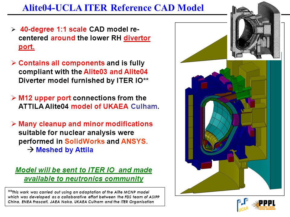 Alite04-UCLA ITER Reference CAD Model
