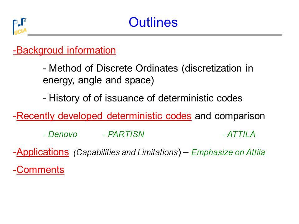 Outlines -Backgroud information