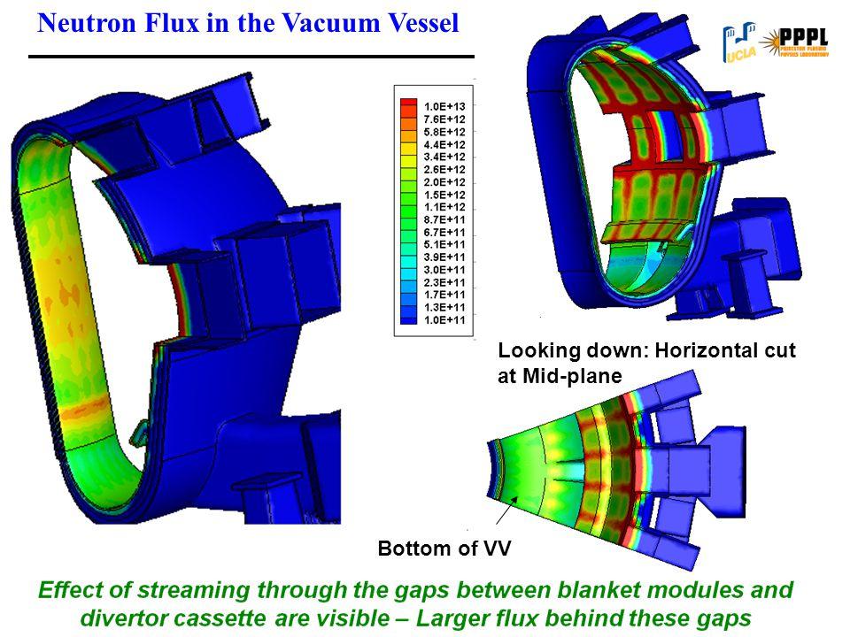 Neutron Flux in the Vacuum Vessel