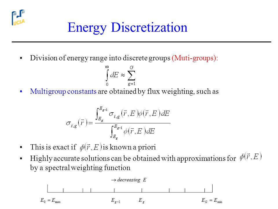 Energy Discretization