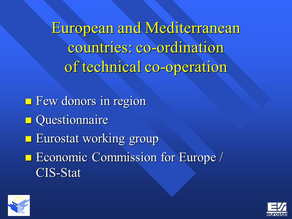 European and Mediterranean countries: co-ordination of technical co-operation