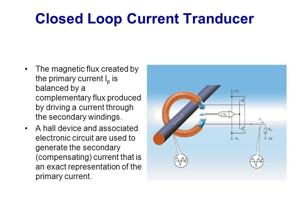 Closed Loop Current Tranducer