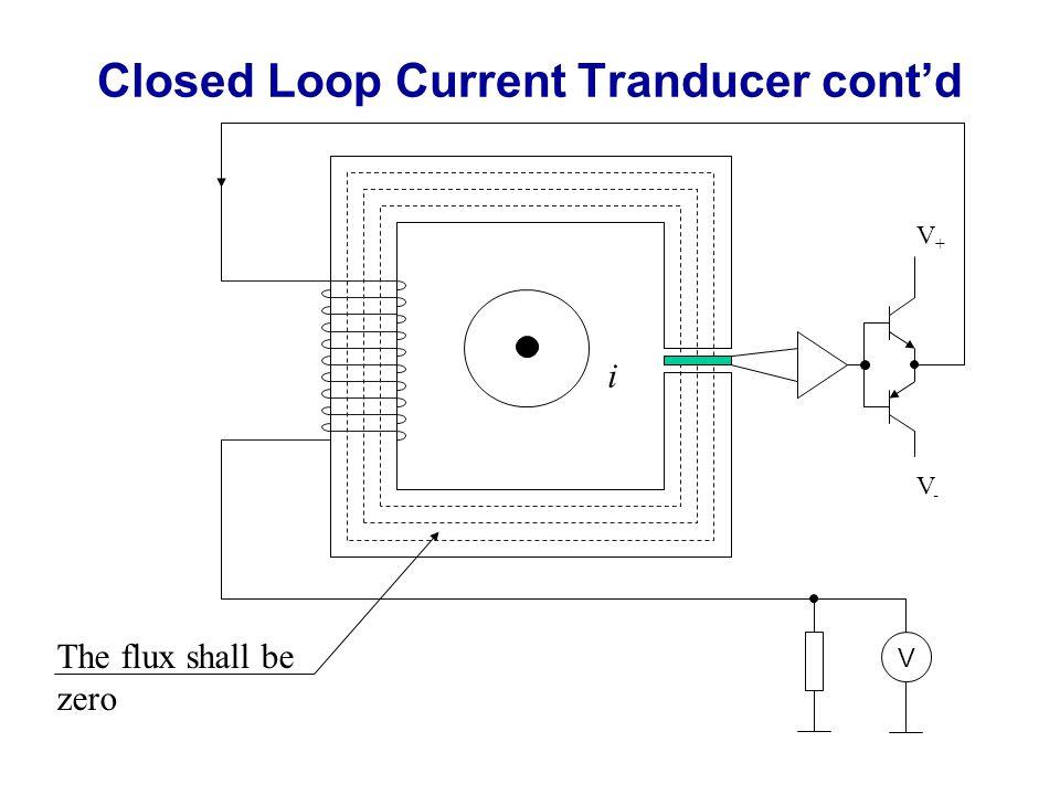 Closed Loop Current Tranducer cont'd