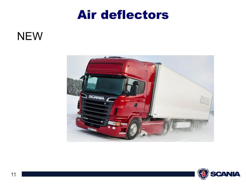 Air deflectors NEW