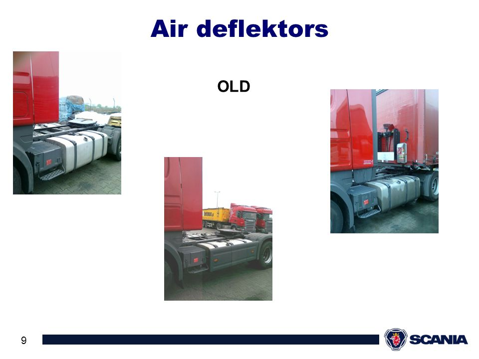 Air deflektors OLD