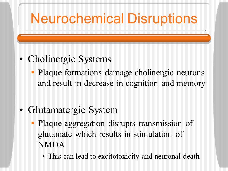 Neurochemical Disruptions