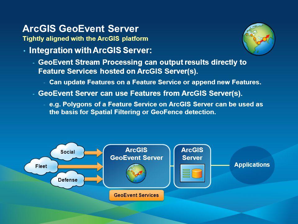 ArcGIS GeoEvent Server