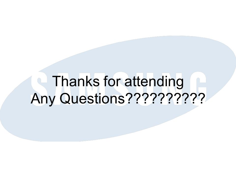 Thanks for attending Any Questions