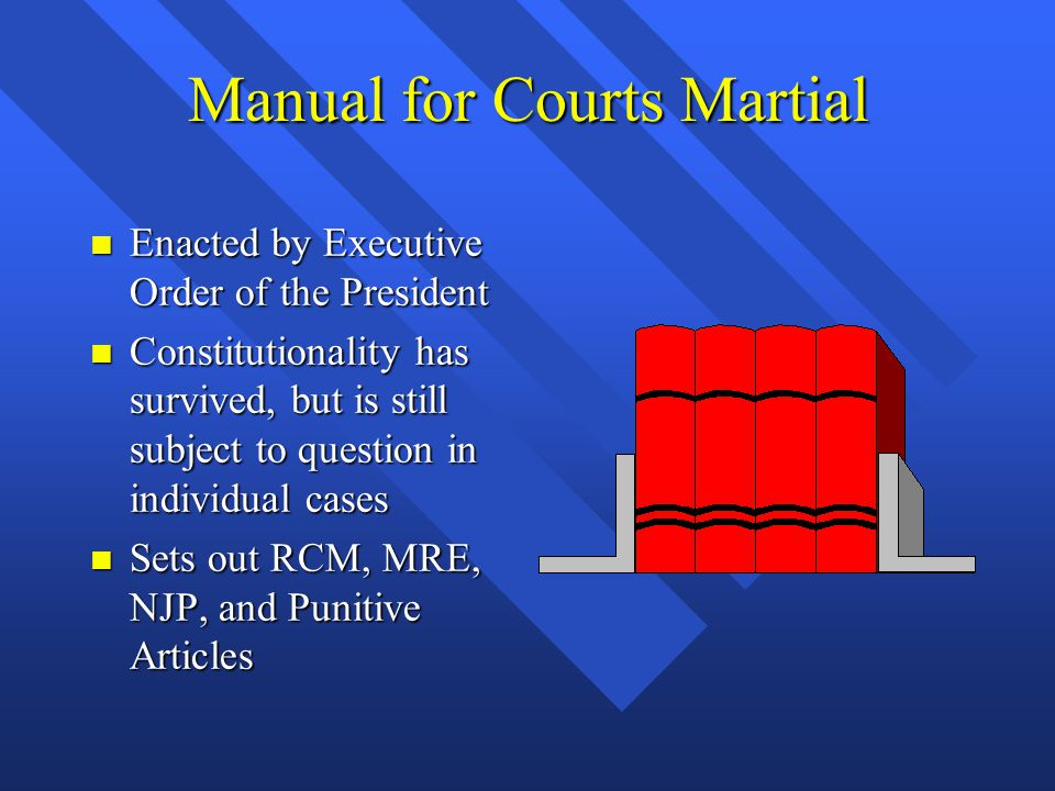 Manual for Courts Martial