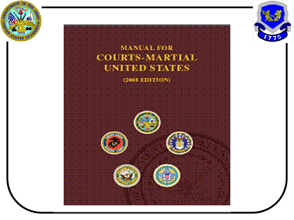 MANUAL FOR COURTS-MARTIAL UNITED STATES (2005 EDITION)