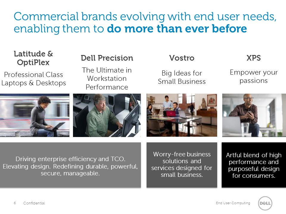 Commercial brands evolving with end user needs, enabling them to do more than ever before