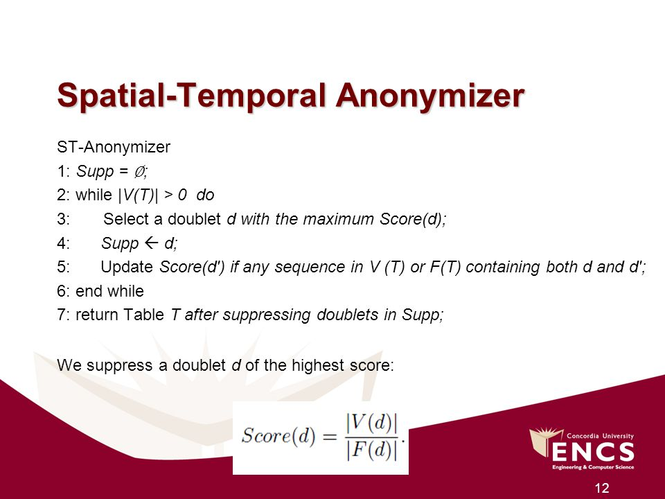 Spatial-Temporal Anonymizer