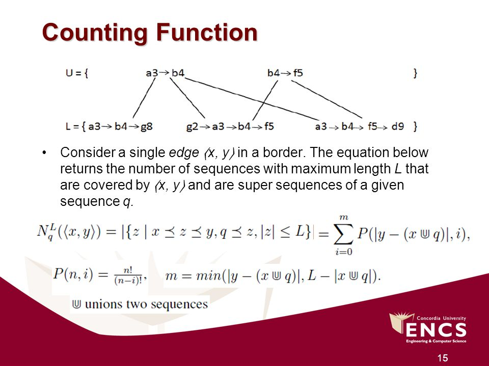 Counting Function