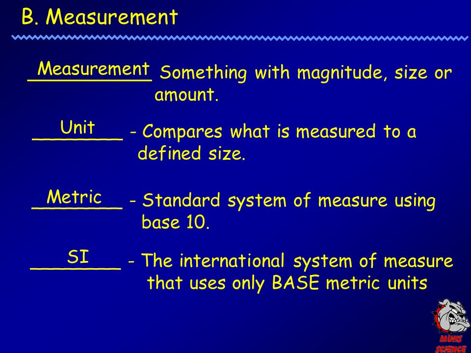 B. Measurement Measurement