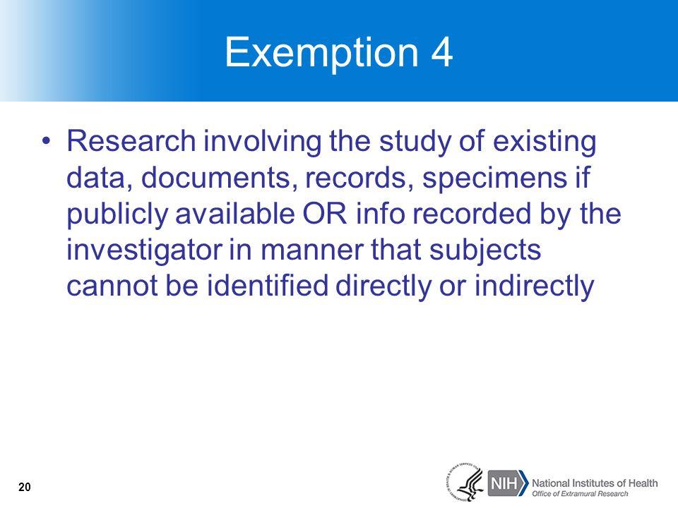 Exemption 4