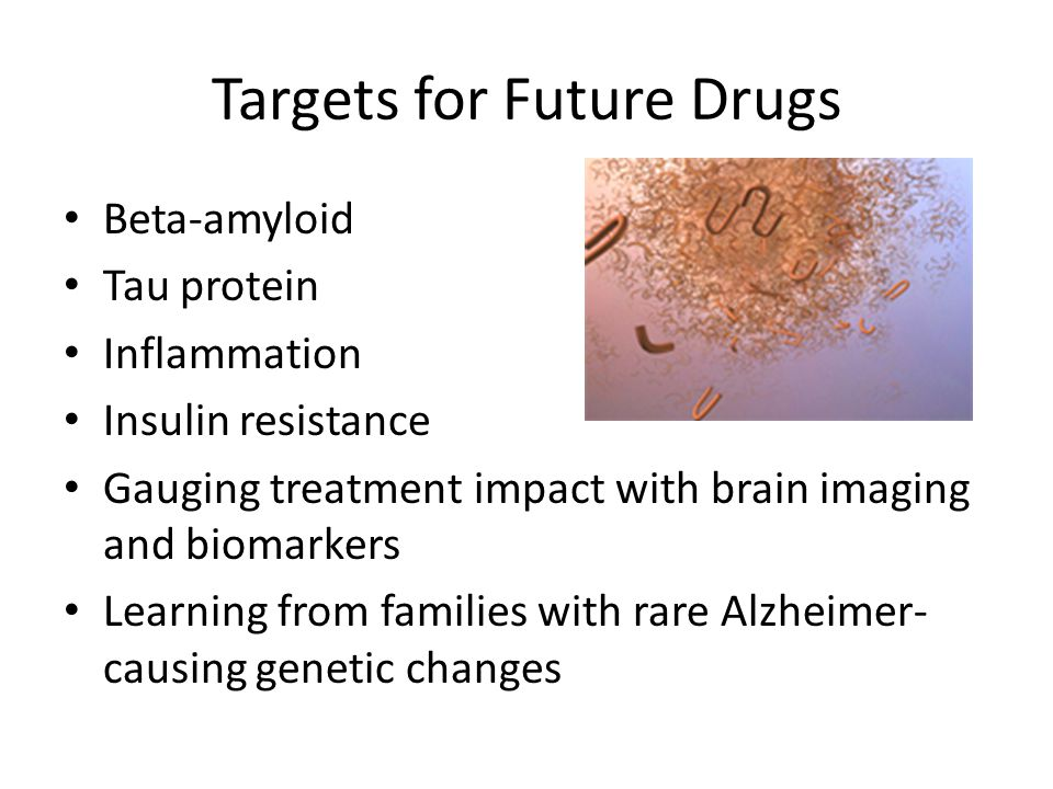 Targets for Future Drugs