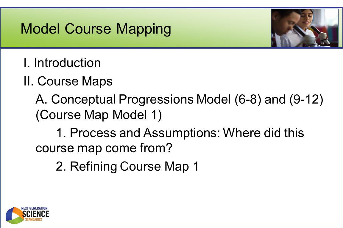 Model Course Mapping