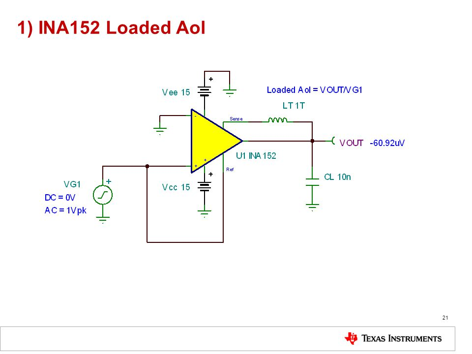 1) INA152 Loaded Aol