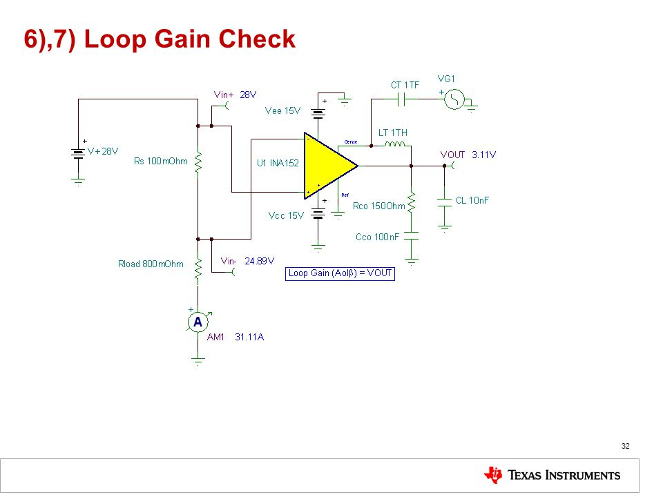 6),7) Loop Gain Check