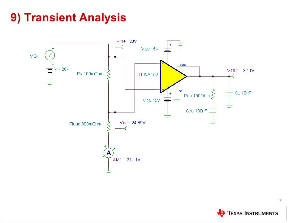 9) Transient Analysis