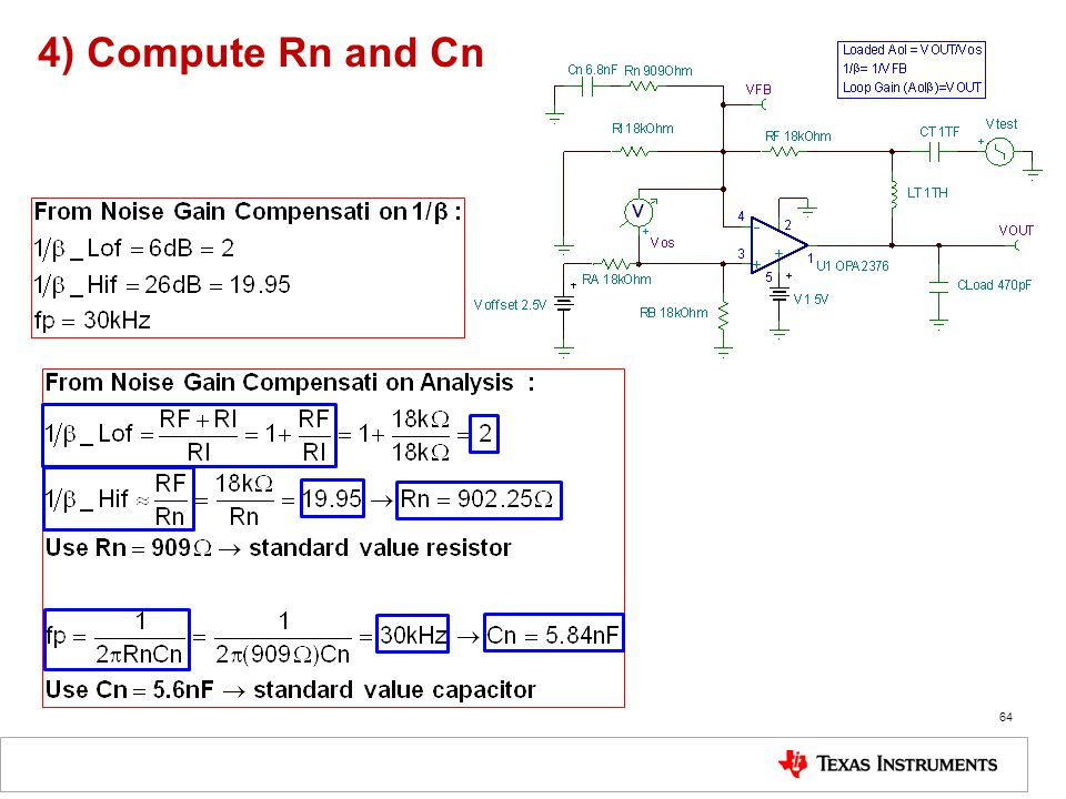 4) Compute Rn and Cn