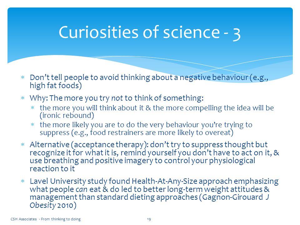 Curiosities of science - 3