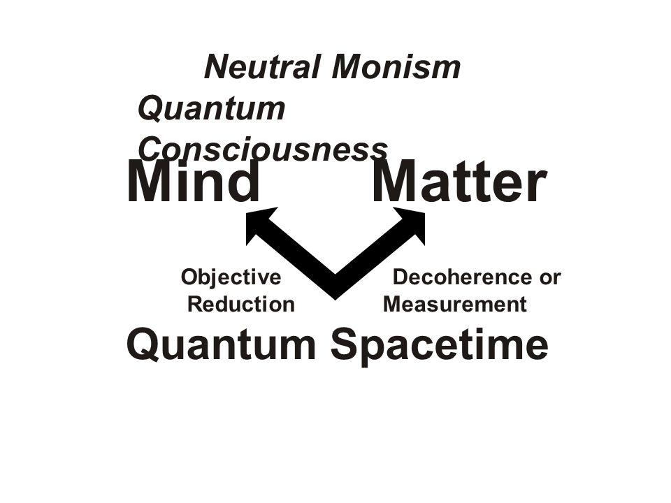 Mind Matter Quantum Spacetime Neutral Monism Quantum Consciousness