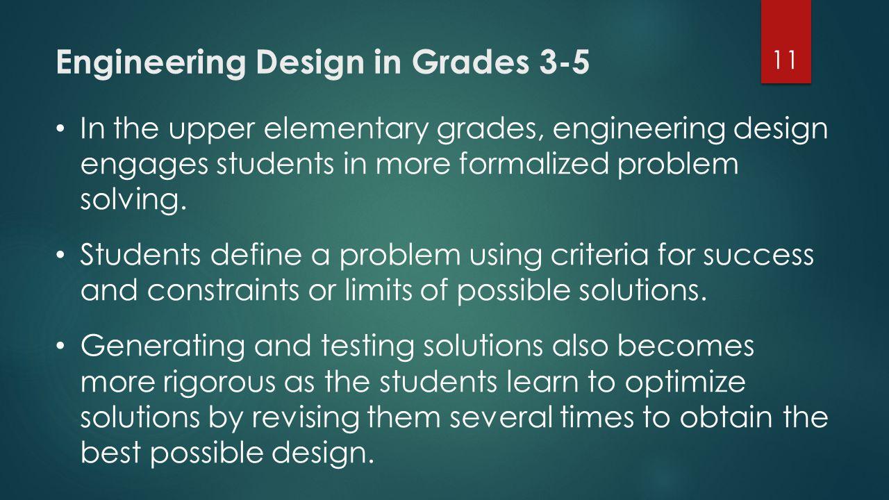 Engineering Design in Grades 3-5