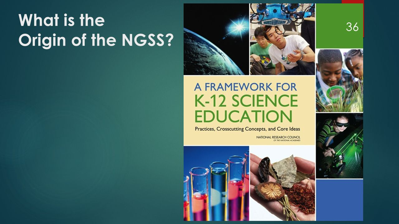 What is the Origin of the NGSS