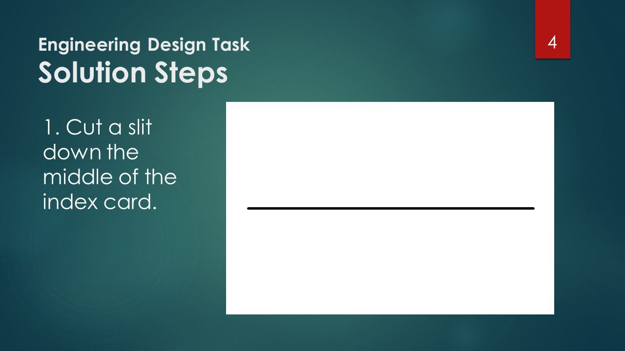 Engineering Design Task Solution Steps