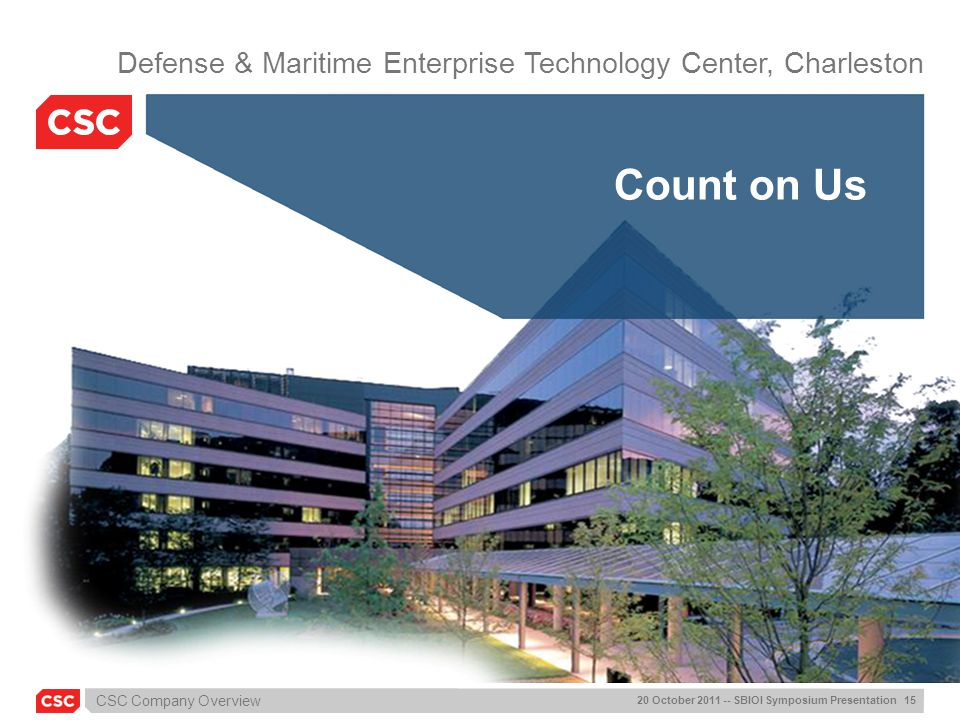 Defense & Maritime Enterprise Technology Center, Charleston