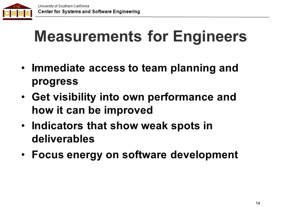 Measurements for Engineers