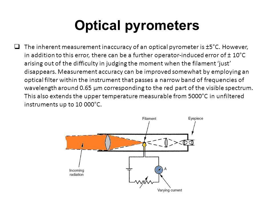Optical pyrometers