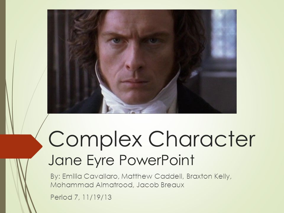 character analysis essay jane eyre
