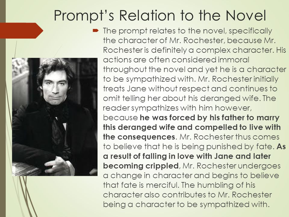 Prompt's Relation to the Novel