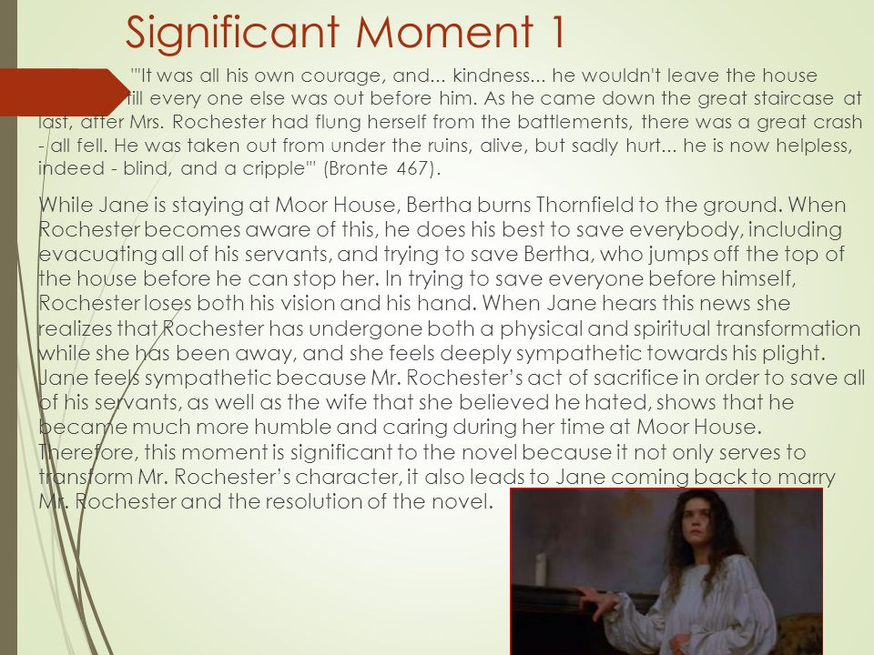 Significant Moment 1