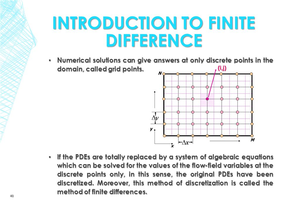 Introduction to Finite Difference